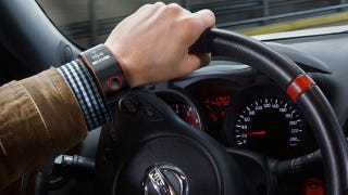 Illustration for article titled Nissan's Biometric Smartwatch Monitors the Health of You and Your Car