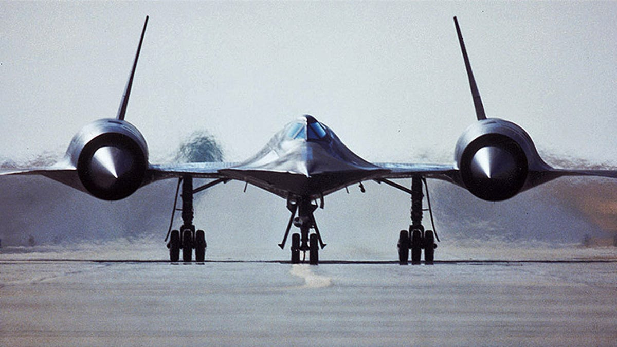 That Time An SR-71 Made An Emergency Landing In Norway After