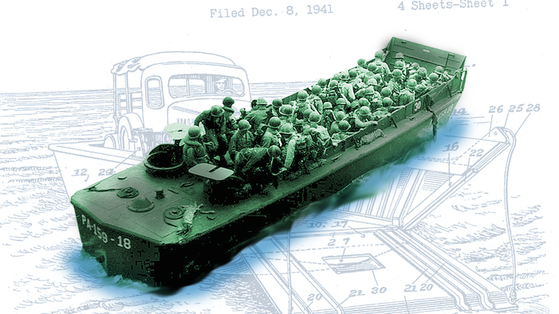 Illustration for article titled Time to Pay Your Respects to the Plywood Boat that Helped Win WWII