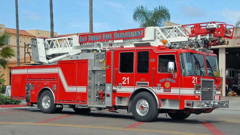 How Can You Not Love The San Diego Fire Department's Bold