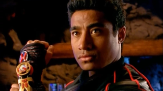 Magasiva as the Red Ranger.