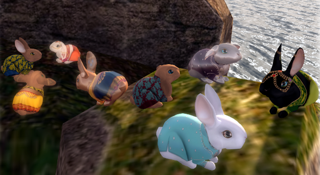 This weekend, Second Life bunnies will starve and die.