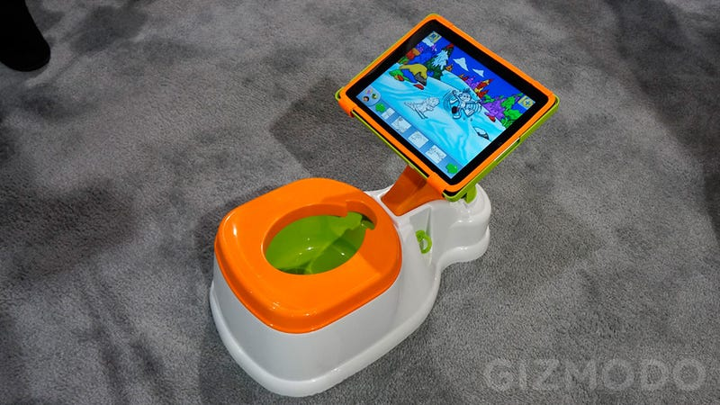 Illustration for article titled Potty Training's Way Easier When Your Kid's Distracted With an iPad