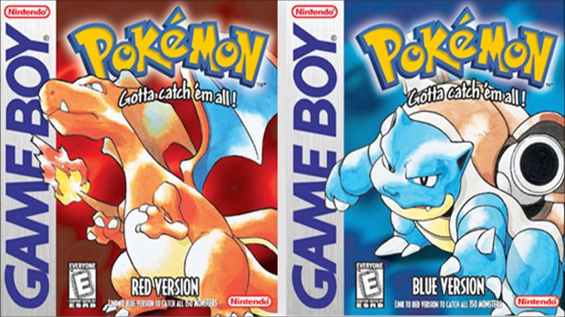 Illustration for article titled Pokémon Red, Blue and Yellow Are Coming To 3DS