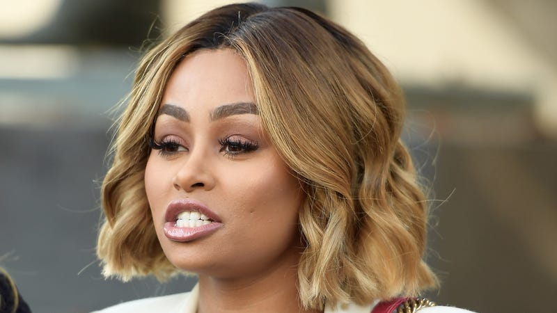 Blac Chyna speaks during a pre-court hearing press conference at Los Angeles Superior Court on July 10, 2017 in Los Angeles, California. (Photo by Matt Winkelmeyer/Getty Images)