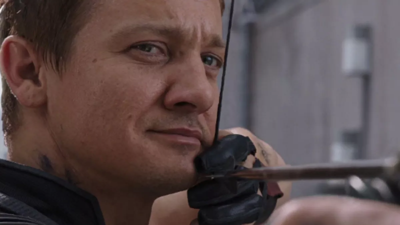Hawkeye is justifiably pleased with himself.