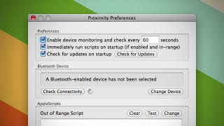 Illustration for article titled Proximity Runs Scripts on Your Mac When Bluetooth Devices Are Near or Far