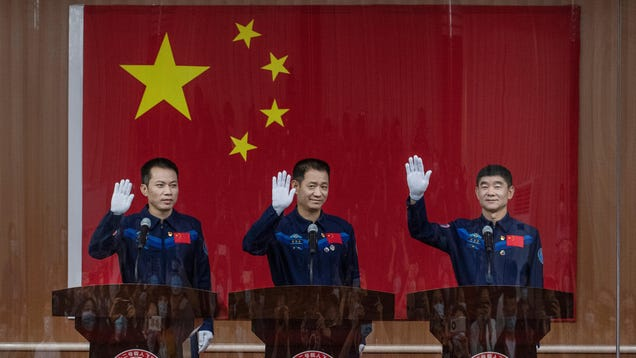 China Set to Launch First Crew to Its New Space Station