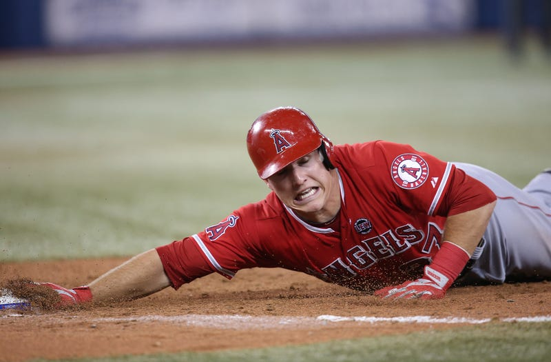 Illustration for article titled Mike Trout Has Finally Broken Baseball's Math