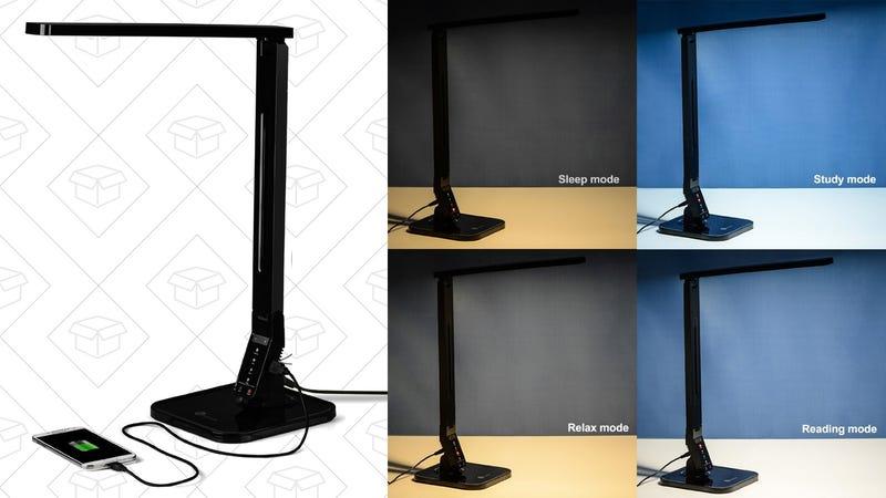 TaoTronics Elune LED Desk Lamp, $30