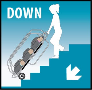 Illustration for article titled Don't Just Save A Baby, Save Six with the BabyScatt Evacuation Device