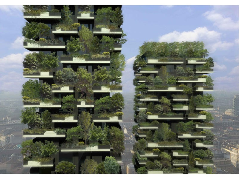 Illustration for article titled No, you will never have skyscrapers with trees on them