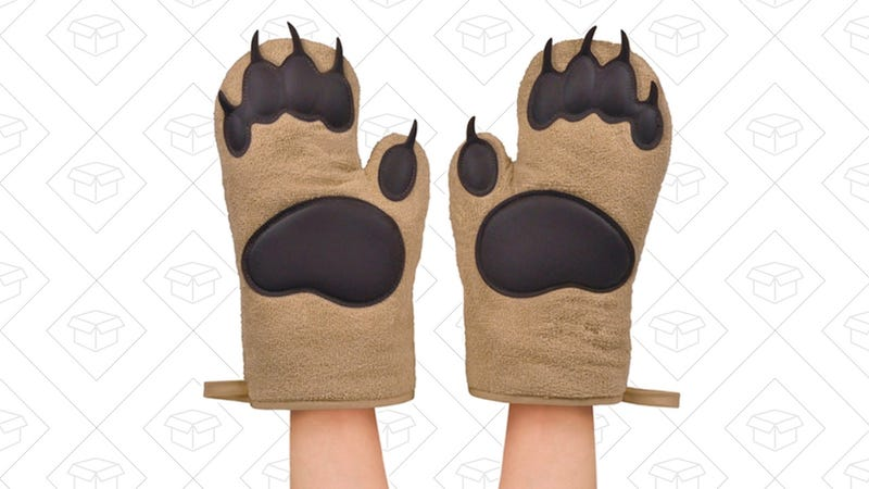 Fred BEAR HANDS Oven Mitts, Set of 2 | $14 | Amazon