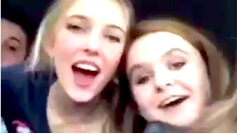 Utah teens chanting the n-word (@WarriorTy7 via Instagram screenshot)