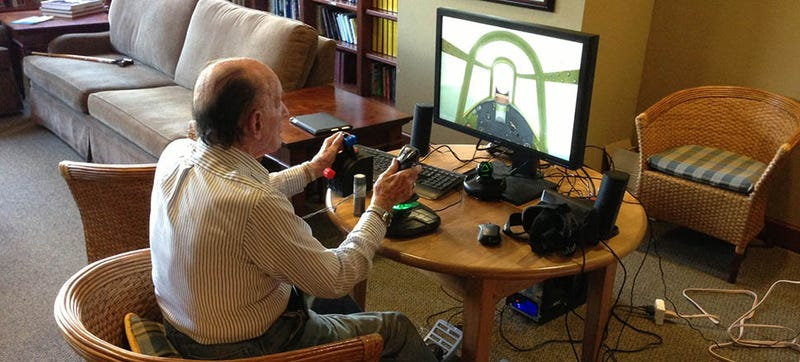Illustration for article titled Aging Veterans Are Using Oculus Rift To Fly War Planes Again