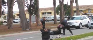 Jose Velasco being beaten by officersYouTube screenshot