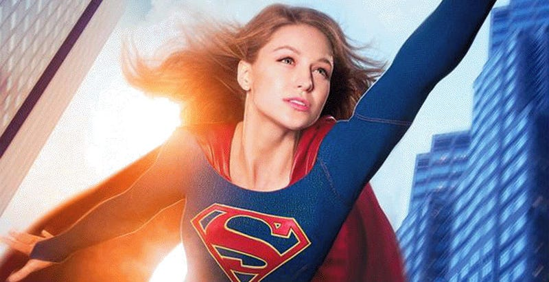 Illustration for article titled See How Supergirl Flies in a Set Video Posted by Director Kevin Smith