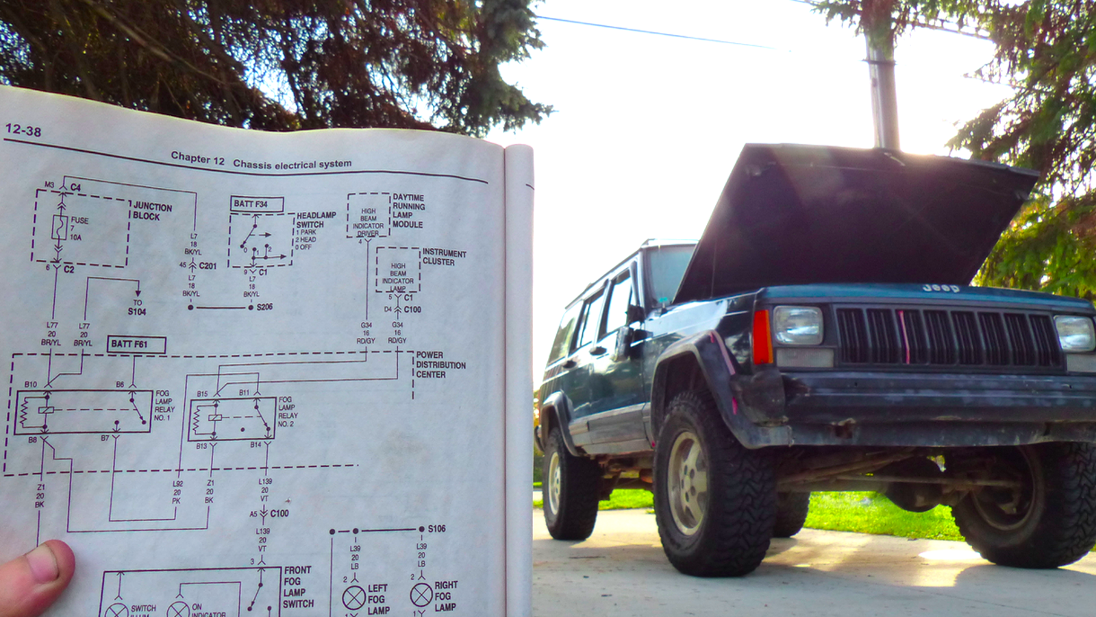 A Scary Halloween Tale Of All The Electrical Gremlins In My Jeep Wiring