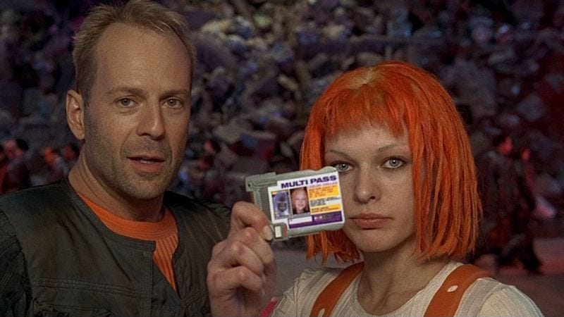 Illustration for article titled The Fifth Element joyfully rips off more than just Star Wars