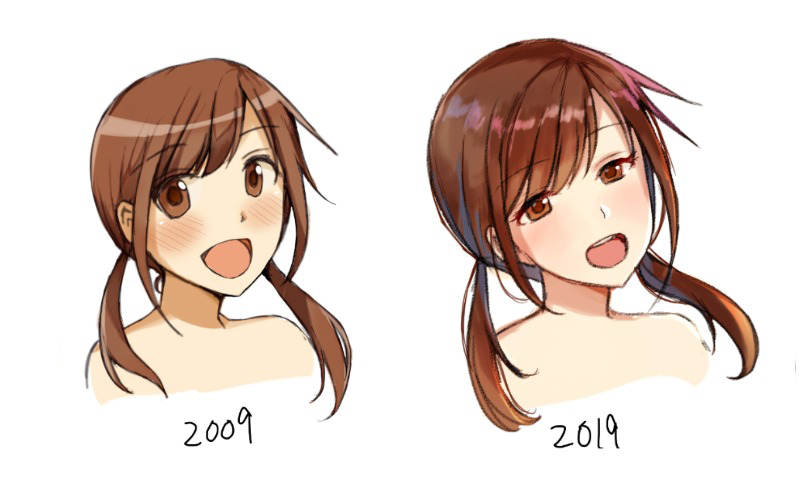 Illustration for article titled How Anime Art Has Changed Since 2009
