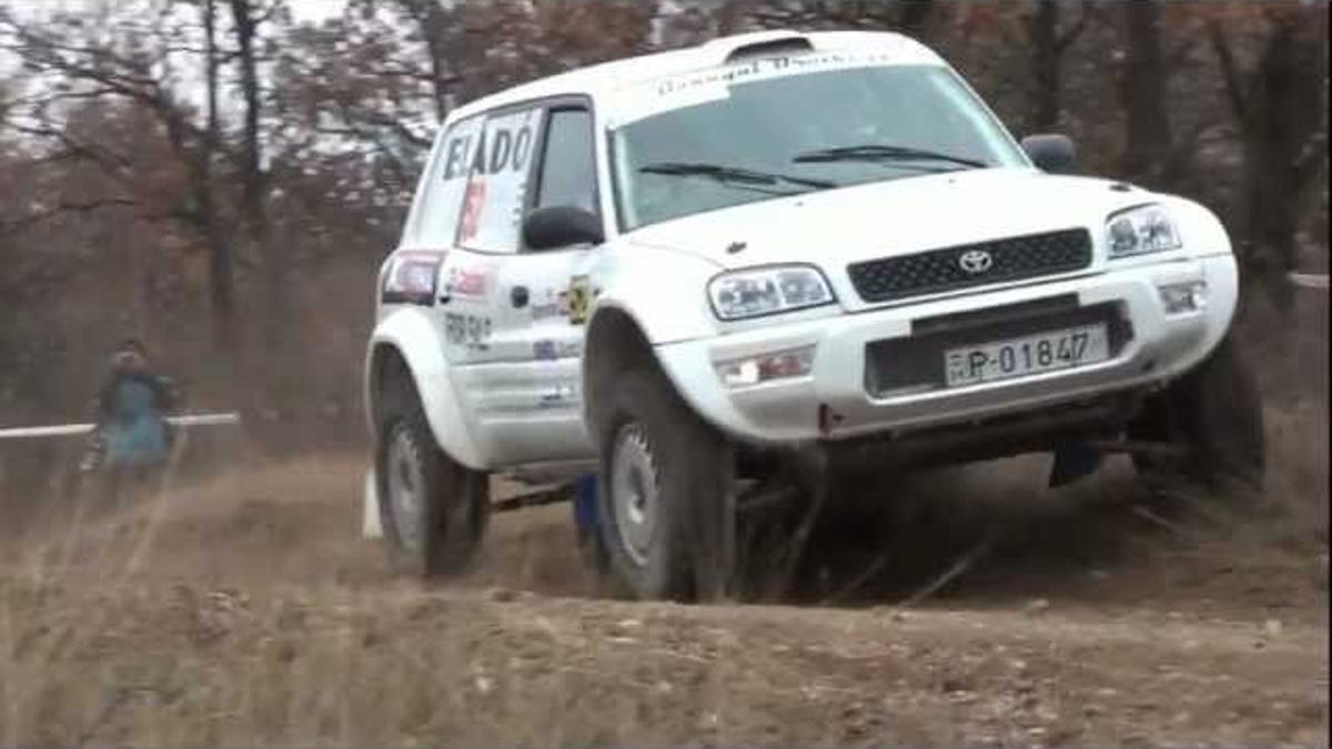 Yes there is a toyota rav4 rally car publicscrutiny Images