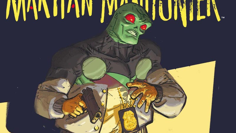 Illustration for article titled Martian Manhunter feels the burn in this exclusive preview