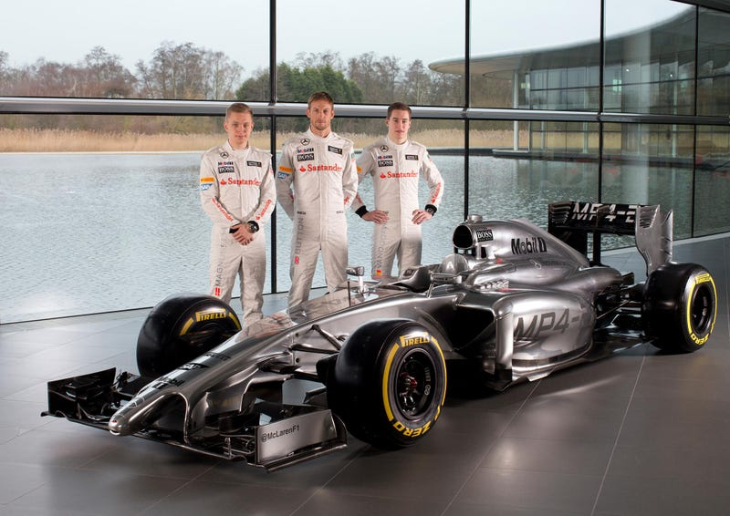 Illustration for article titled This is it: 2014 McLaren Mercedes MP4-29