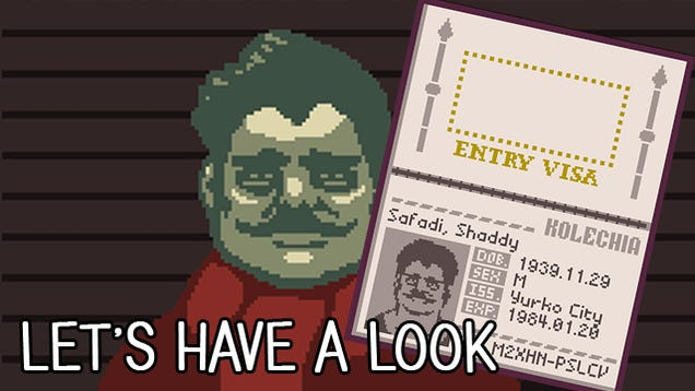 Be A Jerk Immigration Inspector In Papers, Please-1486