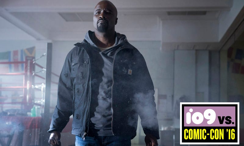 Illustration for article titled Luke Cage Kicks Major Ass in a New Trailer for Marvel's Black Superhero Show