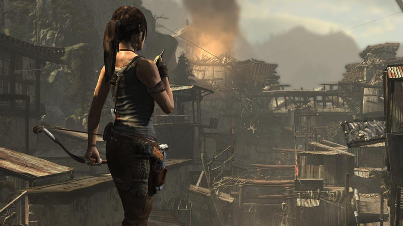 Illustration for article titled Tomb Raider's PC Version Is Good, Despite A Few Stray Hairs