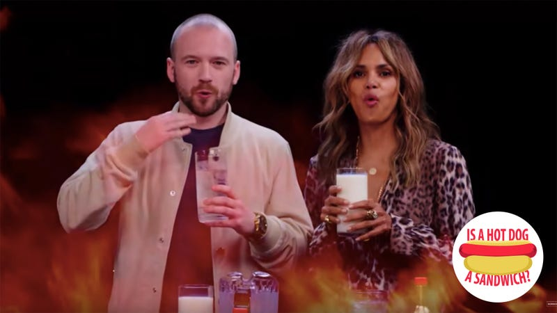 Hey Hot Ones' Sean Evans, is a hot dog a sandwich?