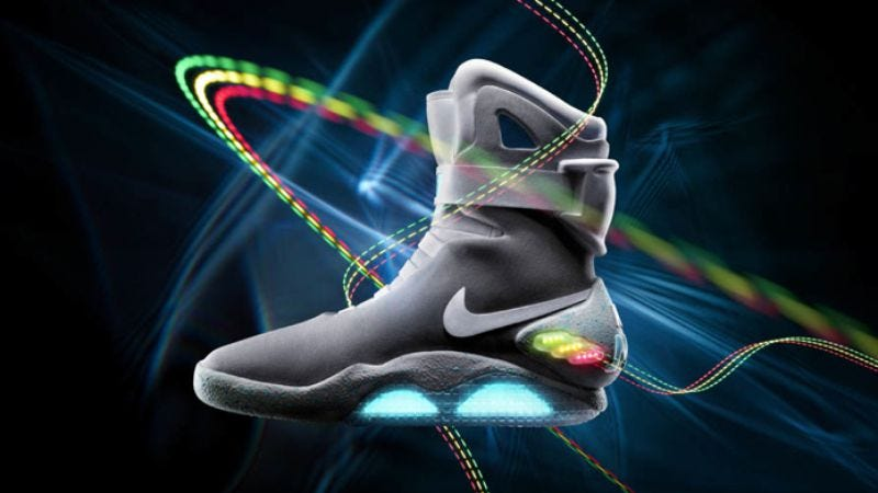 Illustration for article titled If you want to own a pair of Back To The Future sneakers, it will cost you thousands of dollars