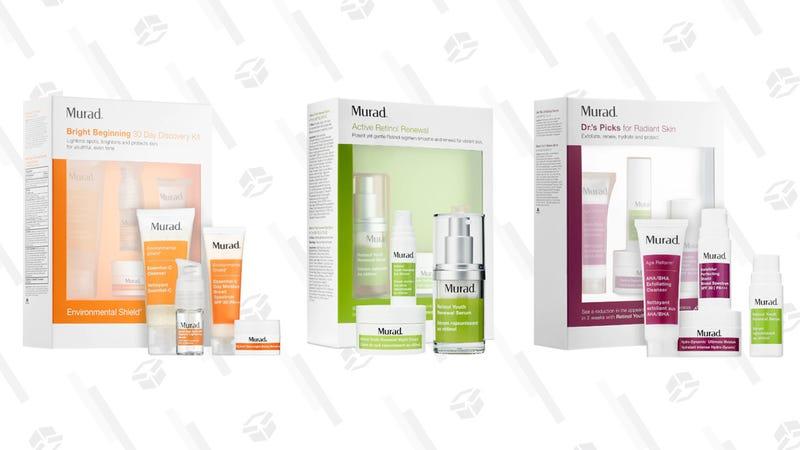 Murad Bright Beginning 30 Day Discovery Kit   $29   SephoraMurad Active Retinol Renewal Kit   $41   SephoraMurad Dr.'s Picks for Radiant Skin   $35   Sephora