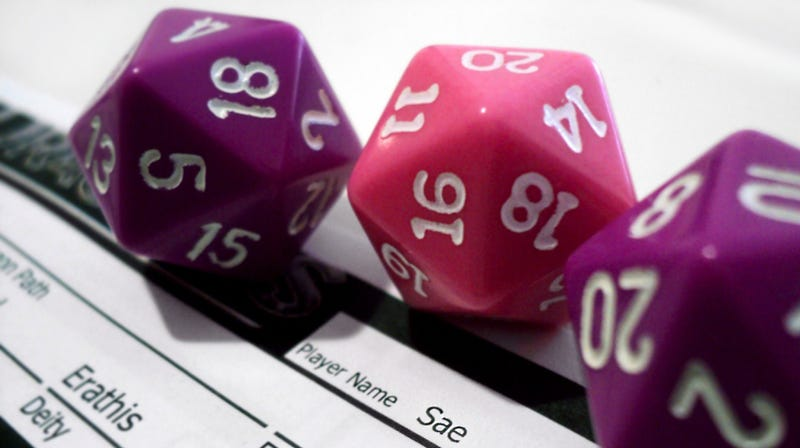 Illustration for article titled Use Google to Roll Dice for Your Favorite Tabletop RPG