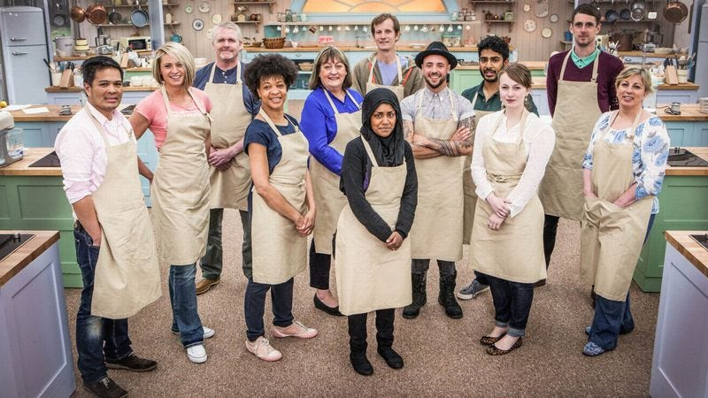 The Great British Baking Show contestants, 2015 (Photo: PBS)