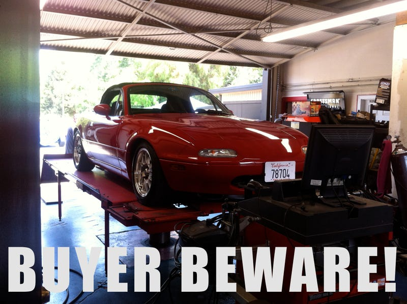 Why You Shouldn't Buy An NA Miata