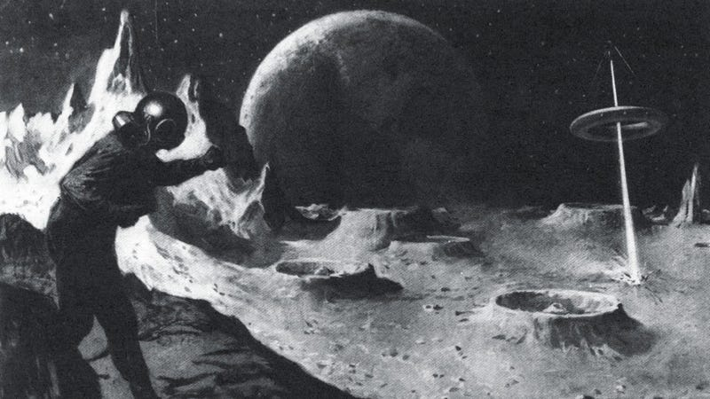 Illustration for article titled How to stop an asteroid... in 1915