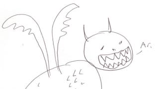 Illustration for article titled Tim Schafer, Notch And John Romero Drew Some Dragons — Because Why The Hell Not?