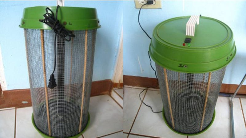 diy bug zapper