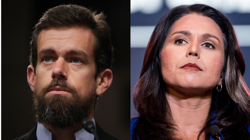 Twitter CEO Jack Dorsey Donates to Democratic Presidential Candidate Tulsi Gabbard