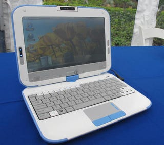 Illustration for article titled Intel Convertible Classmate PC Hands On: You Know, For Kids