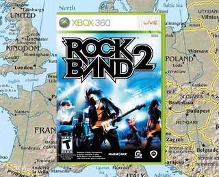 Illustration for article titled Europe Has Been Good, Might Get Rock Band 2 For Christmas
