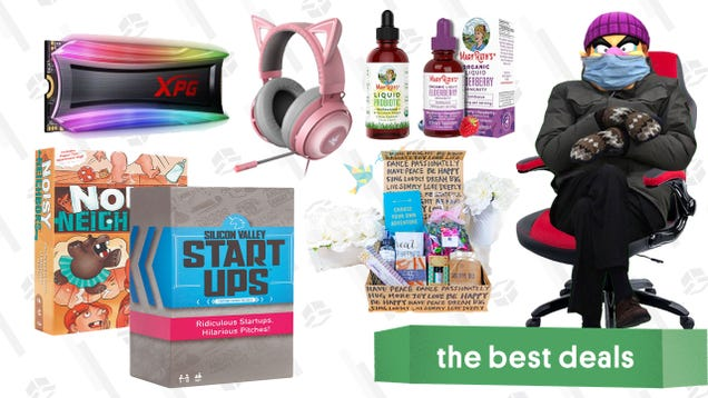 Friday s Best Deals: MaryRuth Organics, Board Games, Razer Accessories, TheraBox, Gaming Chair, MagSafe Charger, The Sims 4, XPG 4TB NVMe SSD, and More