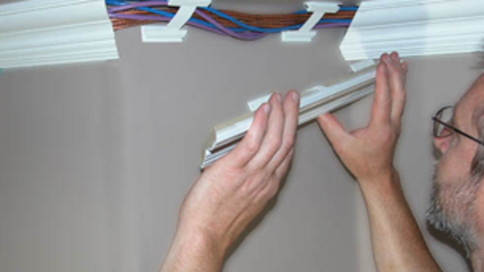 Hide Your Cables in Your Baseboards and Crown Molding