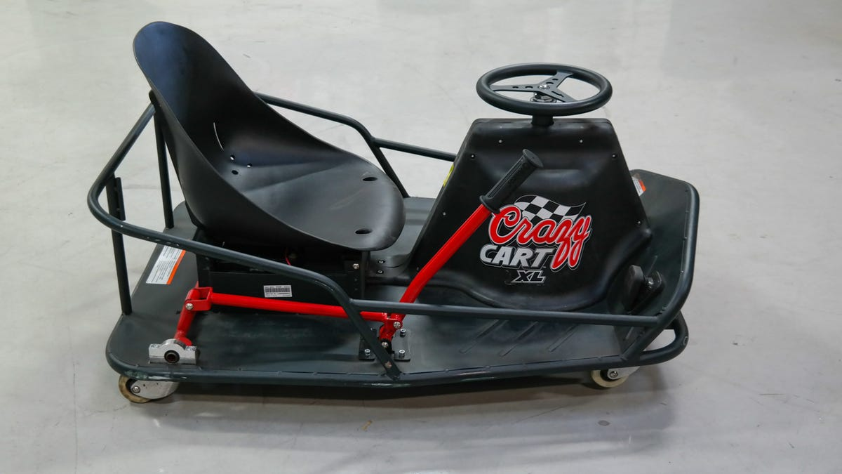 I Drifted Like a Madman on the Adult-Sized Crazy Cart XL