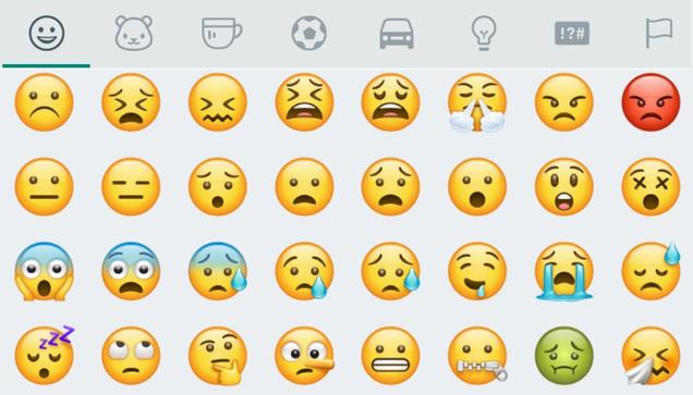 Conoce los nuevos emojis que tendrá WhatsApp en Android