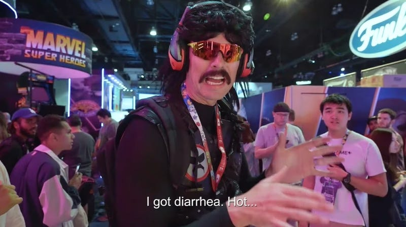 Dr Disrespect Doesn't Seem To Be Taking His Twitch Ban Very Seriously