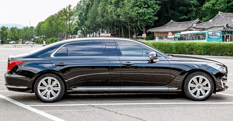 I heard there may be a few G90 limos coming to the US just like the Equus limos did.