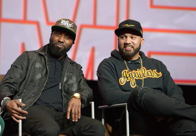 Desus Nice and the Kid Mero in North Hollywood, Calif., on April 20, 2018