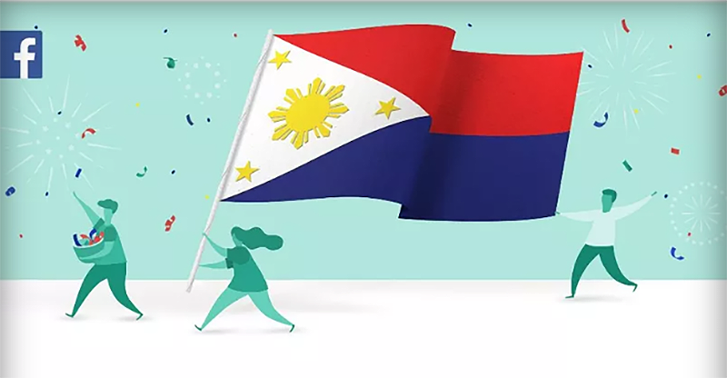 Illustration for article titled Facebook comunica a sus usuarios en Filipinas que su país está en estado de guerra por error